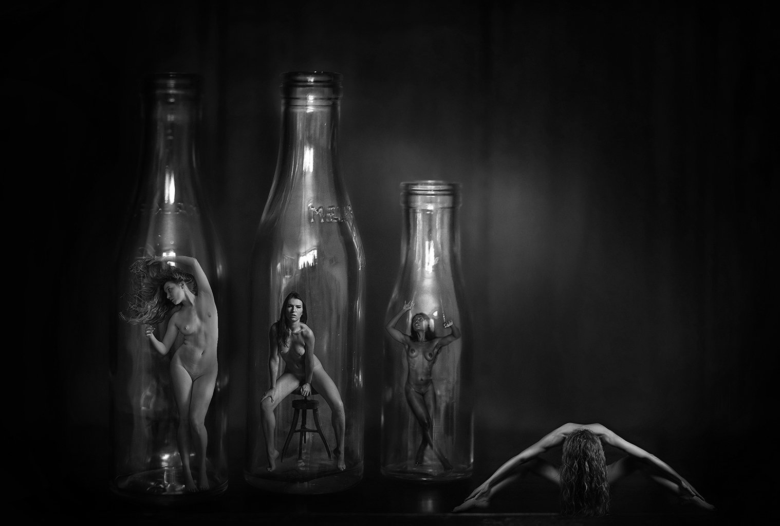 Beauty in bottles_2BW