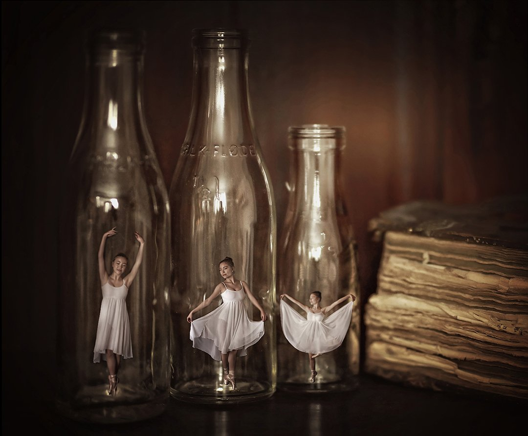Bottle of dance